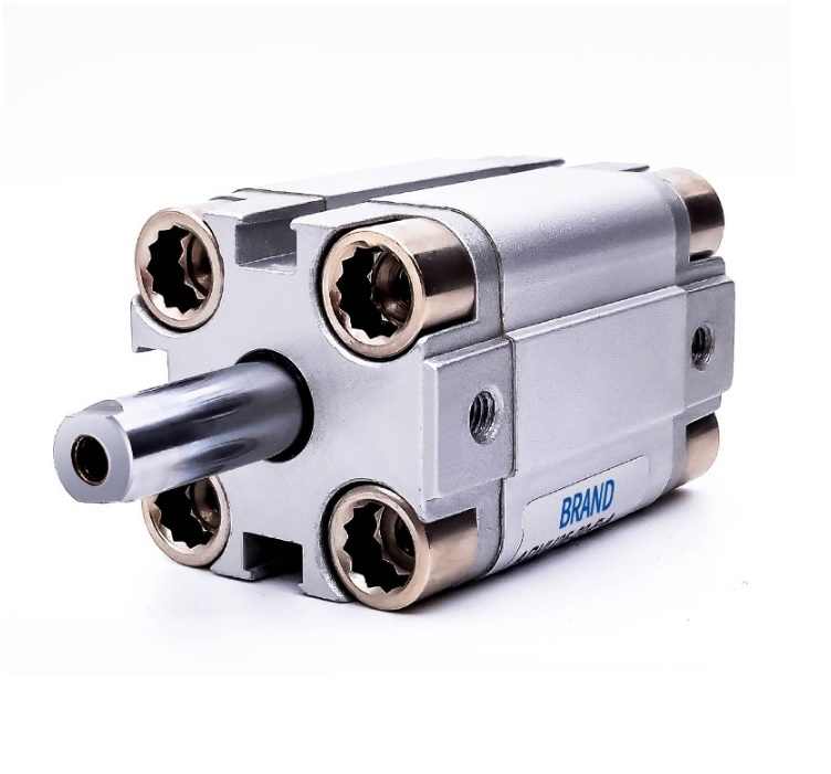 Pneumatic Compact Cylinder with 16mm Piston / Cross Reference:FESTO ADVU16-10-P-A  ADVU-16-20/25/30/45/50 changchai 4l68 engine parts the set of piston piston rings piston pins