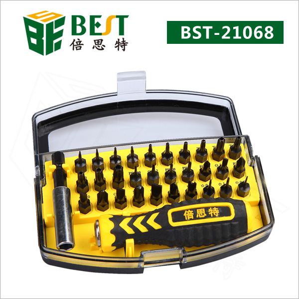 32pcs in 1 Screwdriver Kit Set Realistic Type Repair Tools Kit for Cell Phone PC Laptop Maintenance Best 21068 Free Shipping
