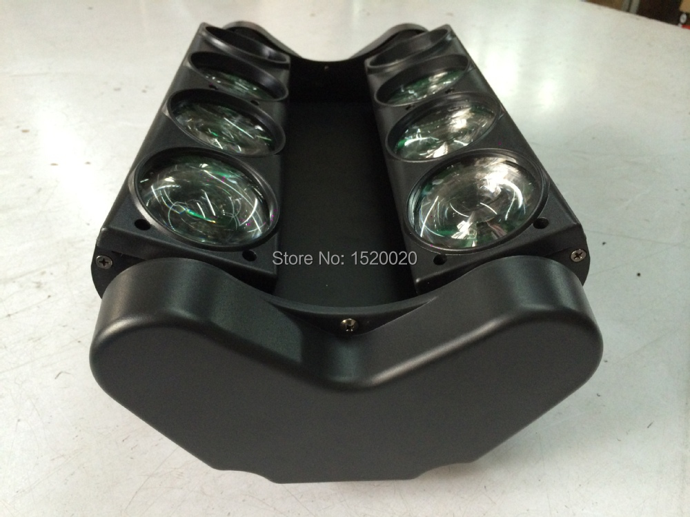 4pcs/lot 4in1 New Moving Head Led Spider Light 8*10W RGBW Led Disco Light DJ Lighting Beam Moving Head Light