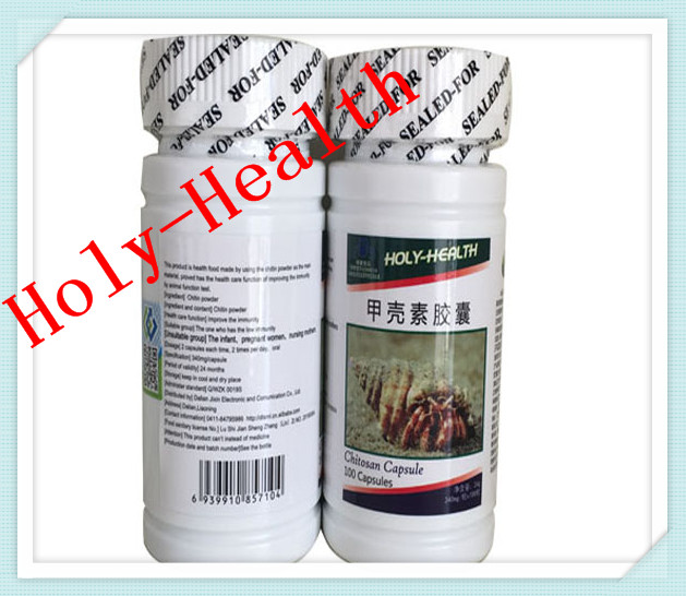 6 bottles best grade food 340mg*100 capsules anti cancer chitosan free shipping