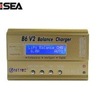 HTRC B6 V2 80W Digital DC Balance Charger Discharger For LiHV LiPo LiIon LiFe NiCd NiMH