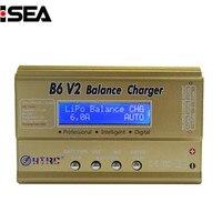 HTRC B6 V2 80W Digital DC Balance Charger Discharger For LiHV LiPo LiIon LiFe NiCd NiMH