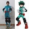 High Quality My Hero Academia Boku No Hero Academia Midoriya Izuku Deku Battle Cosplay Costume For