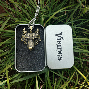 Wolf Head Necklace 1
