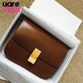 Caixa em forma de clássico flap ladies shouder saco de design da marca pu couro crossbody sacos para as mulheres embreagem moda pequeno saco do mensageiro