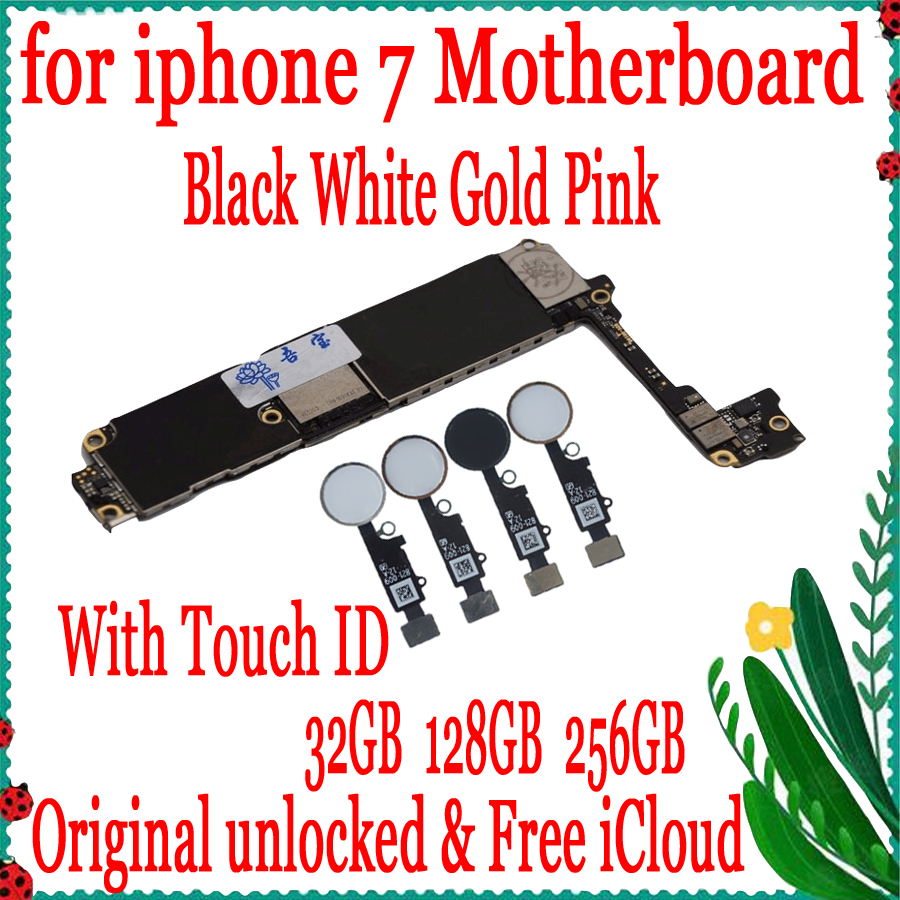 Factory unlock Original unlocked for iphone 7 Motherboard with Touch ID/without Touch ID,Free iCloud for iphone 7 MainboardFactory unlock Original unlocked for iphone 7 Motherboard with Touch ID/without Touch ID,Free iCloud for iphone 7 Mainboard