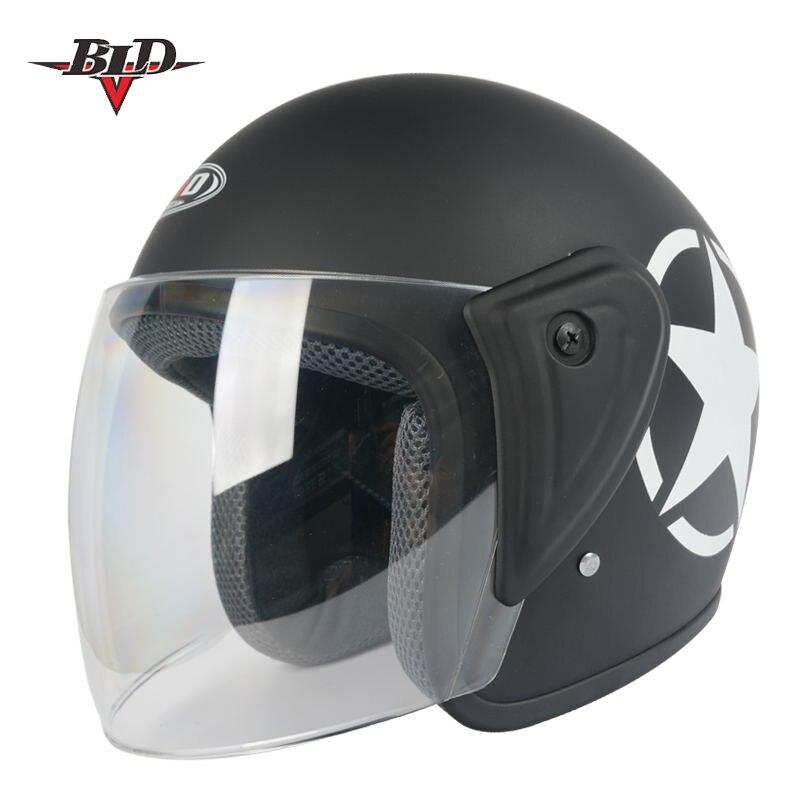 Casque moto casque ouvert visage capacete para motocicleta cascos para moto racing moto vintage casques dans Casques de Automobiles et Motos