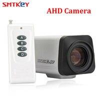 SMTKEY 2.0MP 3.0 90mm Lens Auto focus remote control Box AHD CCTV Camera 36X 1080P Zoom AHD Camera