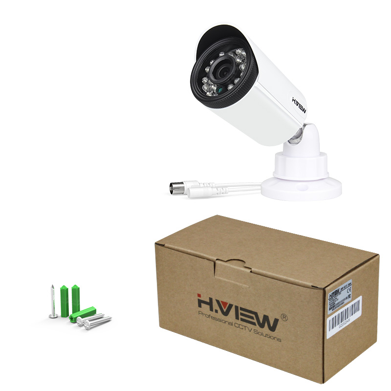 H.View 720P CCTV Camera 1.0MP Security Camera IR 20m Surveillance Camera Weatherproof Outdoor Indoor Kamera (2)
