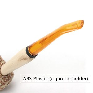 Image 4 - 5 Pcs Macarthur Fatti A Mano in stile Pannocchia di Mais Naturale Supporto di Sigaretta Tubo di Fumo di Tabacco Tubo di ae0006