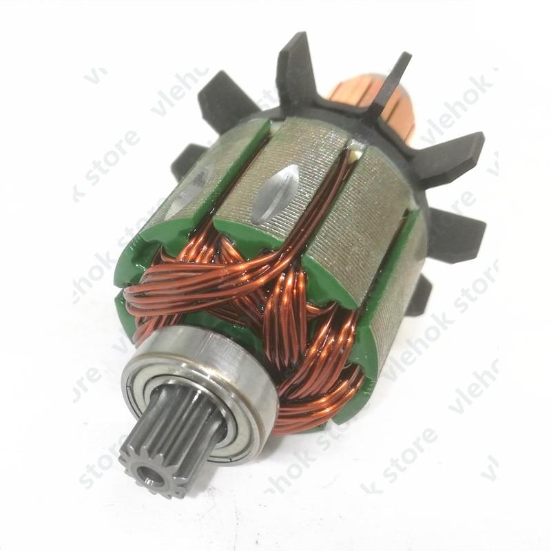 18V Armature Rotor For MAKITA 619263-3 619287-9 DDF456Z DF456D DDF456RFE3 BDF456RFE DDF456 BHP456 BDF456 DDF456RME DHP456 Power