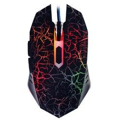 Nowy optyczna USB przewodowa mysz gamingowa do komputera PC Laptop podkładka pod mysz dla graczy Dota 2 LOL czarny biały dla profesjonalnych graczy