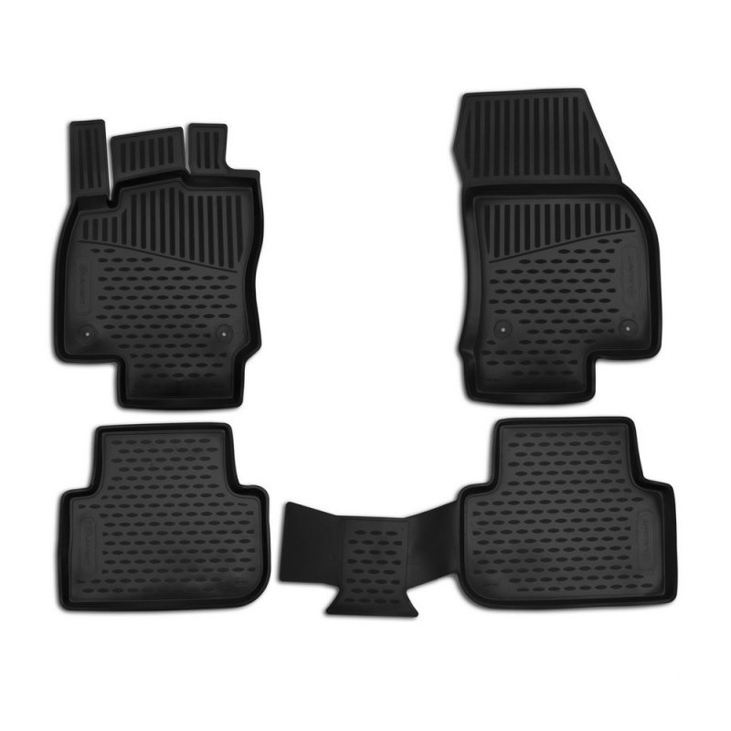 Mats in the salon For Ford Transit Combi 2 pieces 2006-> (polyurethane) ford transit 2006 2 3 145 2 2 85 110 130 2 4 100 115 140