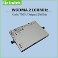 Ganancia 75dB 3G HSPA UMTS WCDMA 2100 mhz señal de teléfono celular de refuerzo repetidor 3G amplificador de señal con AGC MGC Función