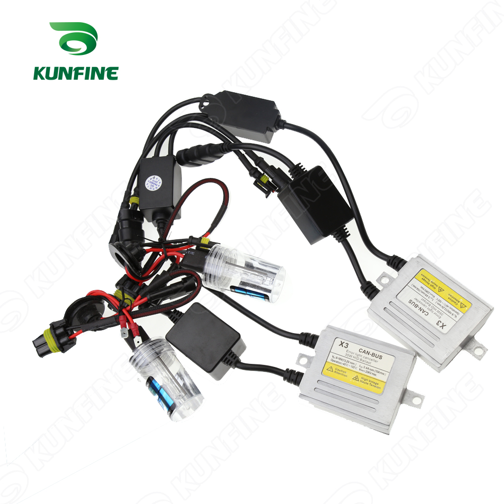 12V/35W X3 CANBUS hid KIT <font><b>H1</b></font>/H3/H7/H8/9004/H4-2/9006/9007/D2S/9005/H7R <font><b>XENON</b></font> <font><b>lamp</b></font> Car HID Conversion Kit HID <font><b>xenon</b></font> headlight image