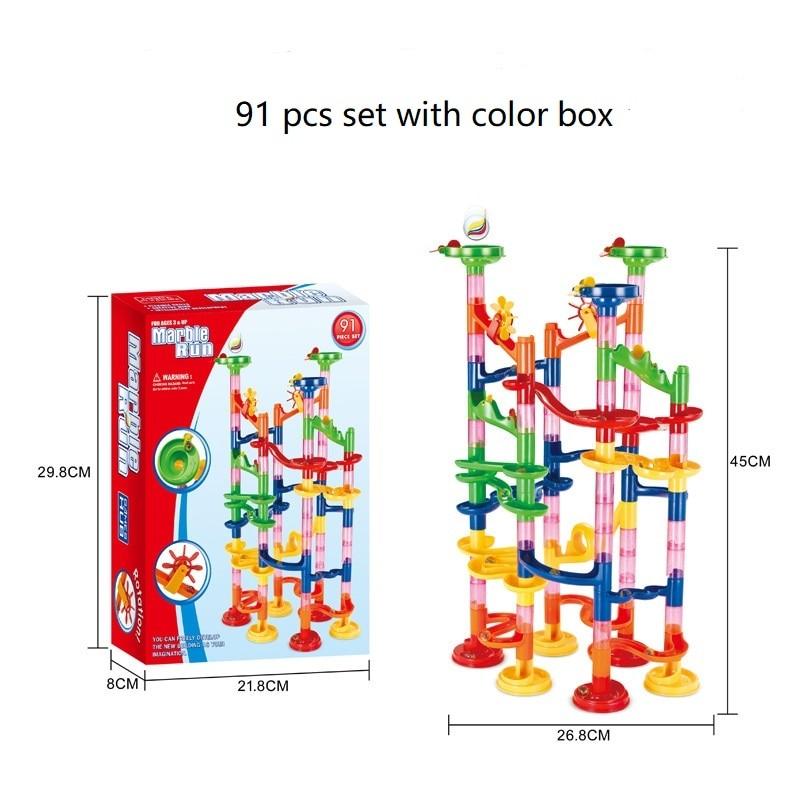 91pcs color box