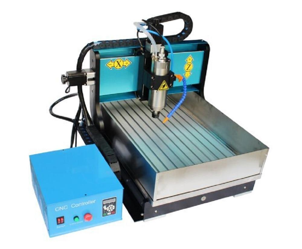 Dsp контроллер мини маршрутизатор 6040 хобби, для рабочего стола фрезерные станки 3 оси древесины гравер