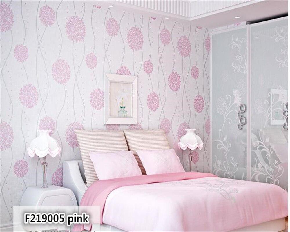 Beibehang tapety douce pastorale non tissé contemporain et contracté salon chambre TV réglage noir et blanc papier peint - 3
