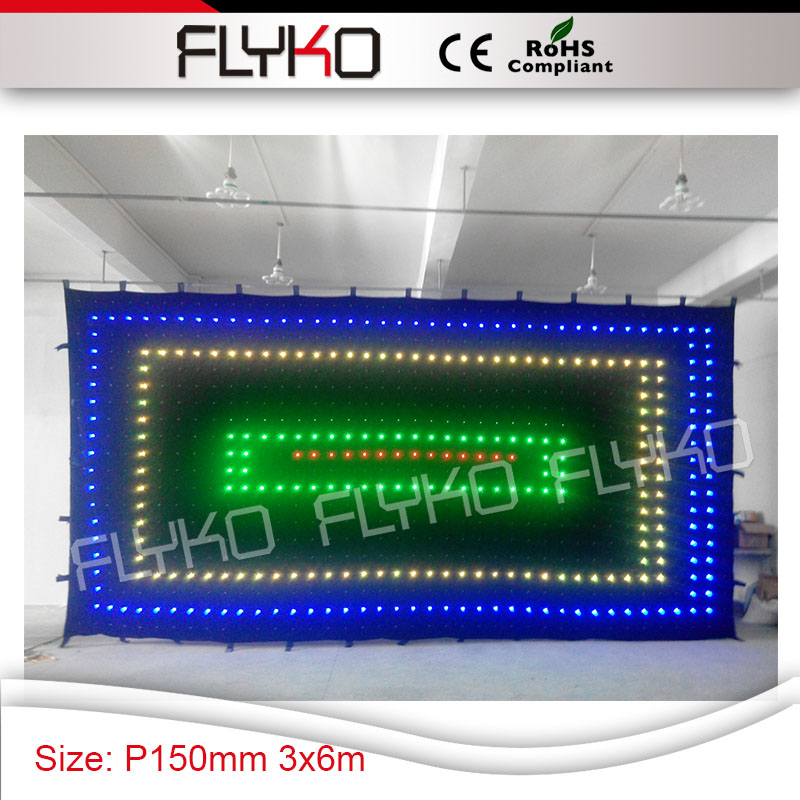 cheap lighting effects. show lighting led effects free shipping 3m x 6m p15 flexible portable stage background curtain cheap g