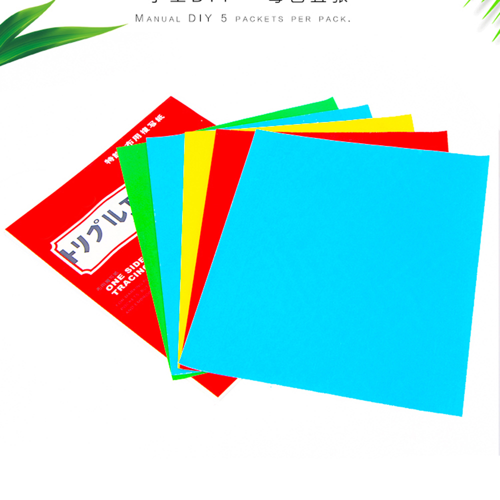 Colorful One Side Tracing Paper Coated Carbon Paper Fabric Drawing Tracing Paper For Cloth