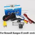 Retrovisor do carro Da Câmera Para Renault Kangoo II 2008 ~ 2016/Com Fio Ou sem fio/RCA HD CCD Visão Noturna Lente Grande Ângulo Da Câmera De Backup