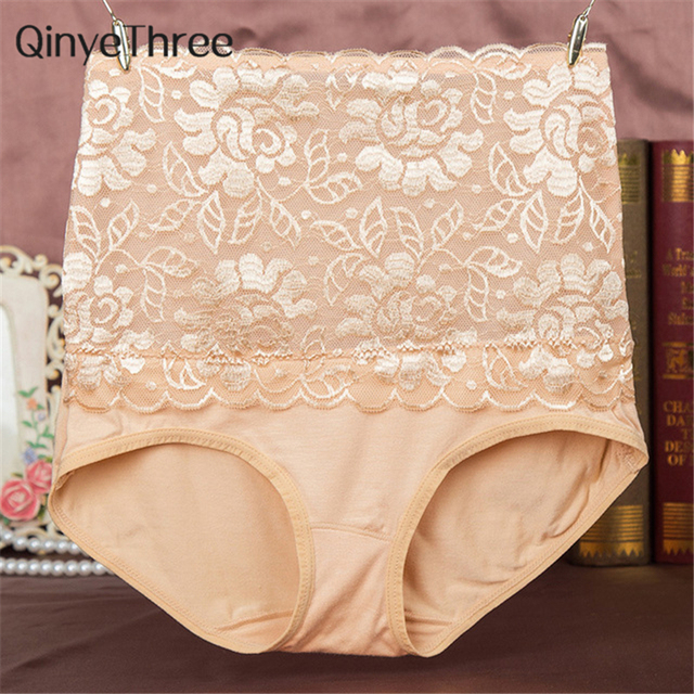 f50ed1722e2b2 8 Color Sexy Women Lace Panties Fashion Designer Body Shaper Hip Abdomen  Tummy Control Briefs High Waist Underwear Women s Panty