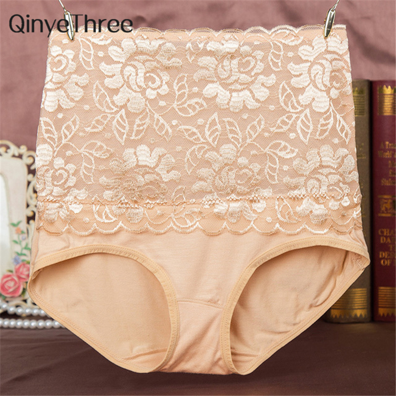 8 Color Sexy Women Lace Panties Fashion Designer Body Shaper Hip Abdomen Tummy Control Briefs High Waist Underwear Womens Panty