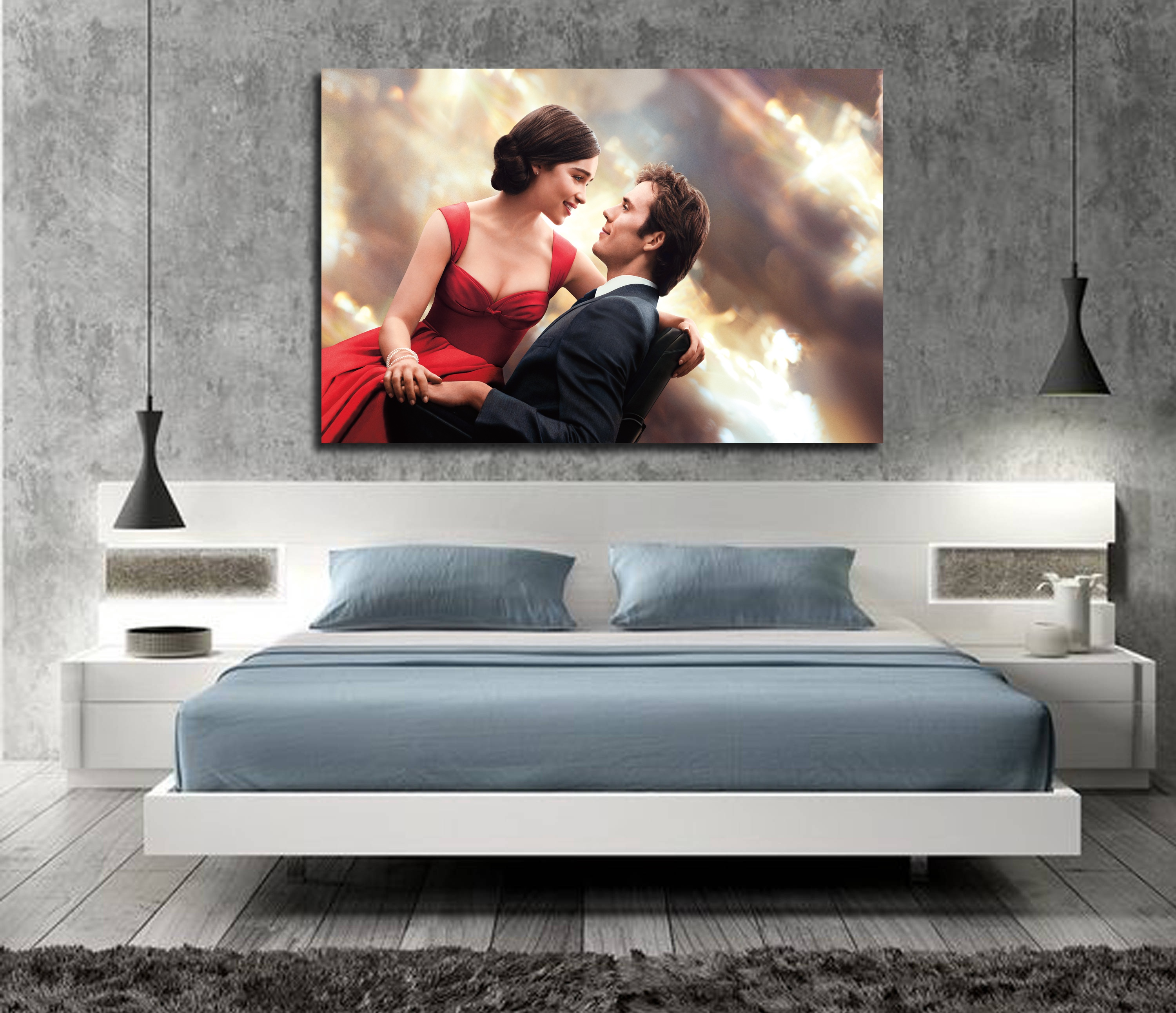 Me Before You Movie Art Silk poster Home Decor 12x18 24x36inch