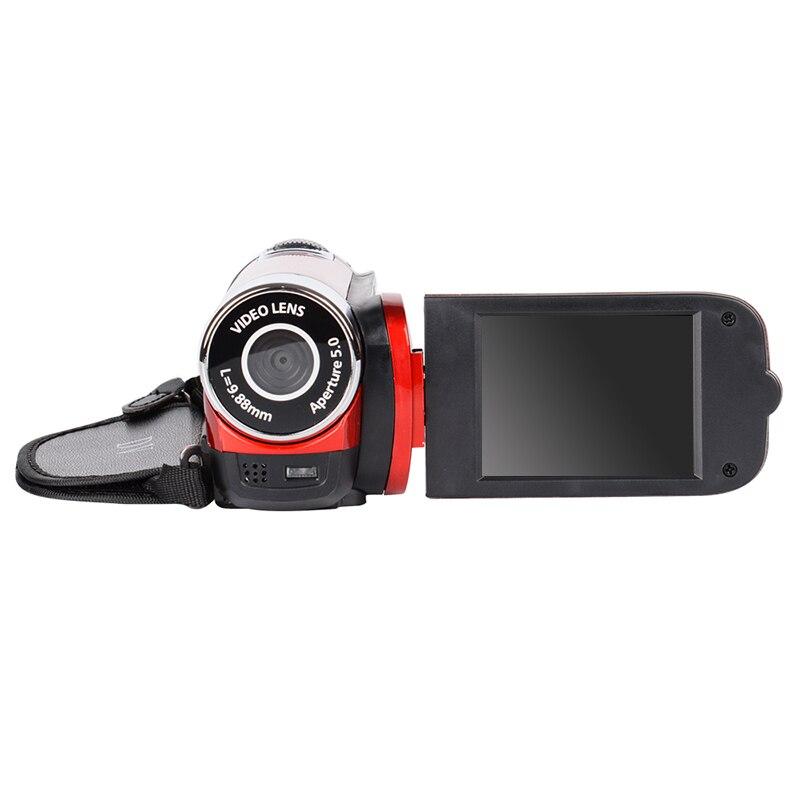 High-quality 1080P HD 2.7-inch digital camera travel outdoor anti-shake camera LCD flash camera