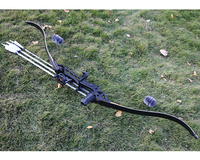 60inch 30 50lbs Recurve Bow Archery American Hunting Shooting Take Down Bows Black for Right Hand Takedown