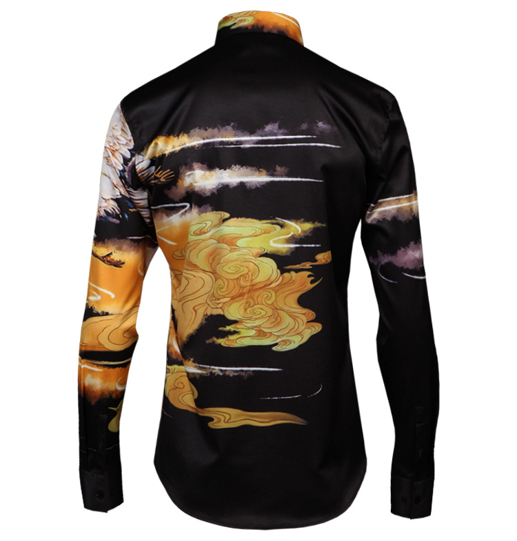 Men 39 s Premium Slim Fit Long Sleeves Casual Formal Shirts Dress Tops Office Button in Casual Shirts from Men 39 s Clothing