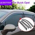 4 шт. Авто Стайлинг тенты окно козырек Дождь бровей для Opel Mokka Insignia седан Buick Envision Encore Regal аксессуары