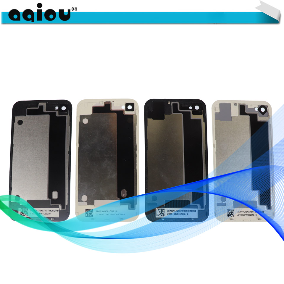 Back-Cover-Case Housing Rear-Glass iPhone 4 New for Apple 4G 4S