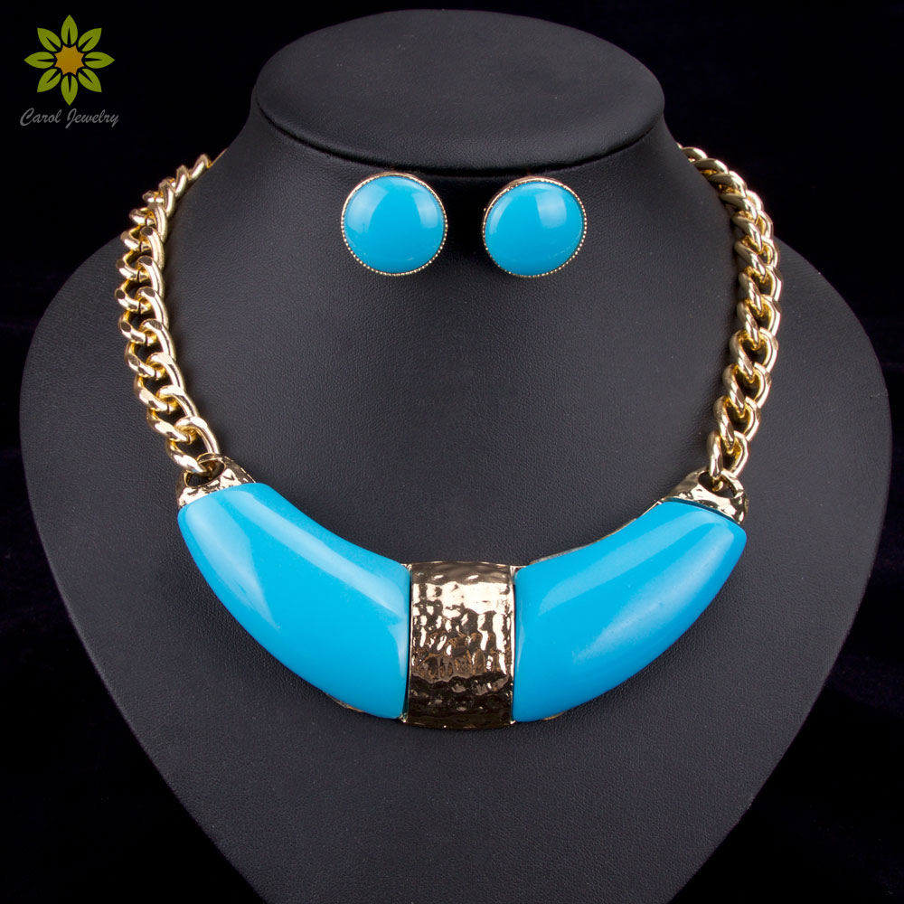 Aliexpress.com : Buy 6Color New Statement Necklace Fashion ...