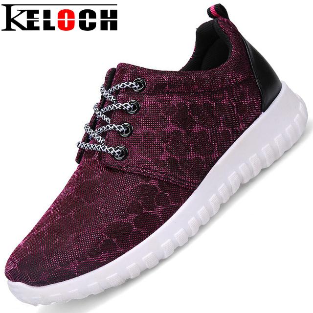 Keloch Mujeres Zapatos Ocasionales de Las Señoras Con Cordones de Zapatos de Moda Zapatos Cómodos Transpirable Deportivas Mujer