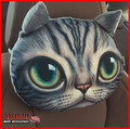 3D Car Cat Air Freshener Head Pillow with Activated Carbon Bag Cartoon Cat Car Head Pillow for Volkswagen VW POLO Tiguan Passat