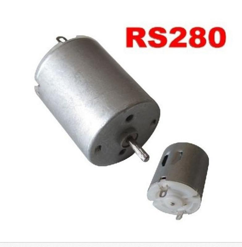 MITSUMI M24N-1 DC12V~24V Double Shaft Mini 280 Motor 2mm Shaft DIY Car Door Lock