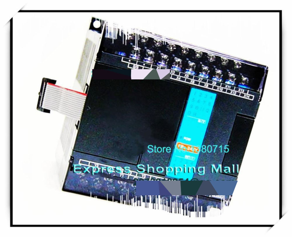 New Original FBS-24XYR PLC 24VDC 14 DI 10 DO relay Module new and original fbs cb2 fbs cb5 fatek communication board