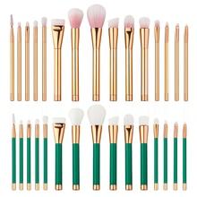 T2N2 New Professional 15Pcs Eye Makeup Brushes Set Eyeshadow Eyeliner Lip Cosmetic Powder Concealer Blush Brush
