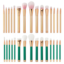 T2N2 New Professional 15Pcs Eye Makeup Brushes Set Eyeshadow Eyeliner Lip Cosmetic Powder Concealer Blush Brush Kit Beauty Tools