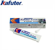 Kafuter 80g k-5204k led térmico condutivo silicone cpu ligação adesivo de secagem rápida térmica sílica curável coeficiente 1.6