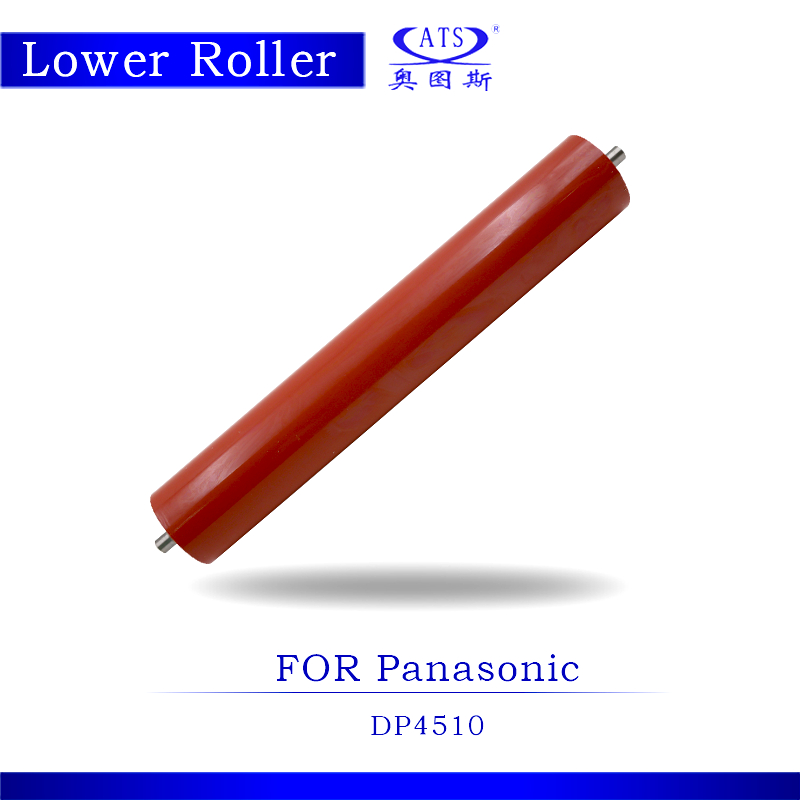 1PCS Photocopy Machine Lower Pressure Fuser Roller For Panasonic DP4510 Copier Parts DP 4510 dzlm000112 dp2310 dp2330 dp3010 dp3030 dp2000 dp2500 dp3000 dp8025 dp8032 copier lower roller bearing for panasonic
