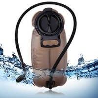 L 2L 2.5L Sistema de hidratación de TPU Portátil Bolsa de vejiga de agua Paquete de Camping al aire libre senderismo escalada ciclismo bolsas de agua