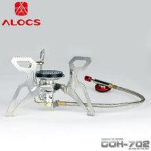 Alocs CS-G11 Folding Stove Split Gas Furnace Portable Lightweight Portable BBQ Outdoor Stove