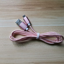 1 M Kabel Usb Mikro Nilon Fast Charge USB Kabel Data untuk Samsung Xiaomi LG Tablet Android Ponsel Usb kabel Pengisian(China)