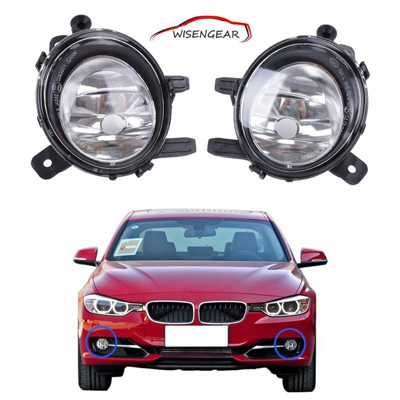 1Pair Bumper Fog  Driving Lights For BMW F22 F23 F30 F31 F32 F33 F34 F35 F36 3 Series 2012 -  2015 63177248911 63177248912 C/5 high quality 1pair bumper driving fog light lamp lens for bmw e39 5 series 525i 530i 540i 4door 2001 2002 2003 car accessory q35