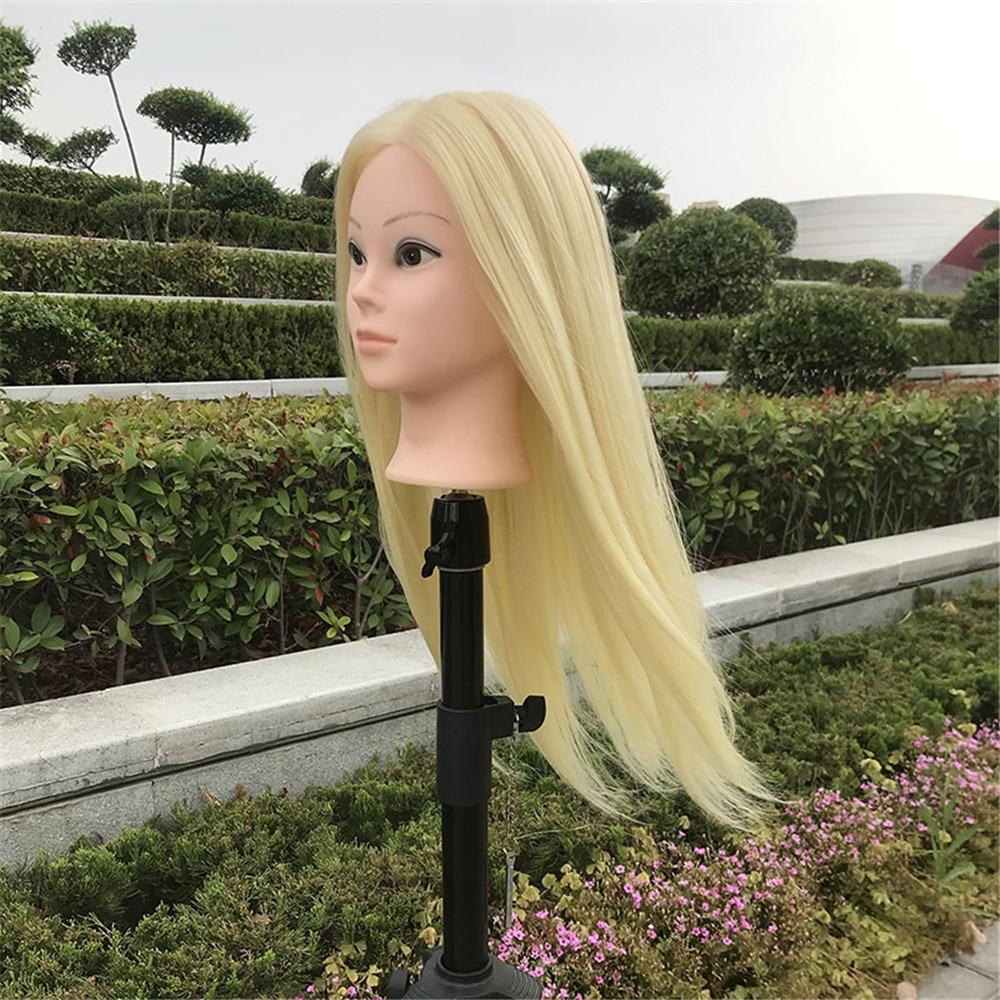 Mannequin tête cheveux 26 pouces