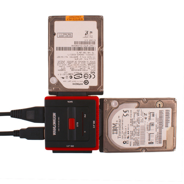 888U3 High Speed USB 3.0 To SATA IDE 2.5 Inch 3.5 Inch Cable Hard Disk Driver Converter Adapter US Plug Type