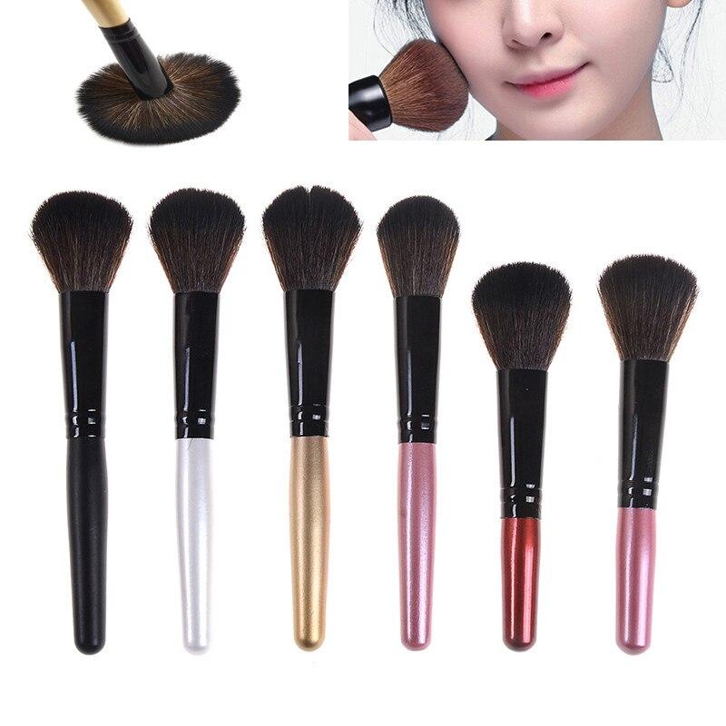 1PC Women's Brushes Wooden Foundation Cosmetic Blush Brush Eyebrow Brush Makeup Brush Sets Fashion Tools