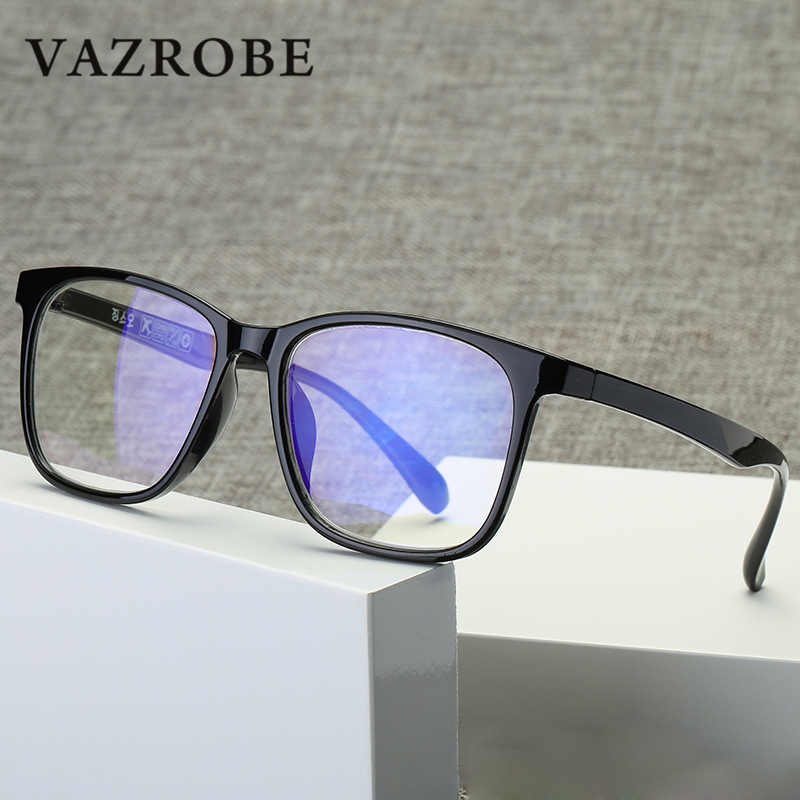 65f5e86e67 Vazrobe Computer Glasses Men Women Blue Light Glasses Man Anti Reflective  Blocking ray from computer for